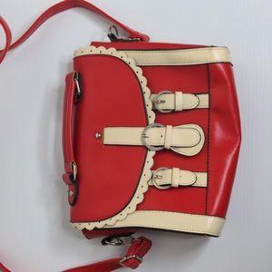 Dangerfield Revival red cute shoulder bag